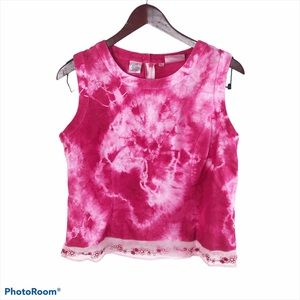 CUSTOM Willi Smith Collection 12 Bright Pink Top